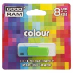 Goodram Fleshdrive COLOR 8GB USB 2.0 Niebiesko-zielony
