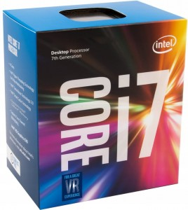 Intel Core i7-7700, 3.6GHz, 8MB, BOX
