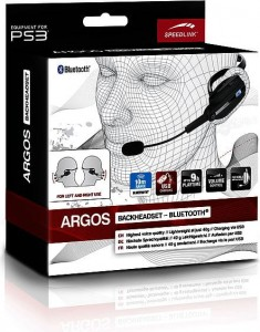 Speed-Link Argos Backheadset Bluetooth Black