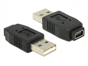 Delock Adapter Delock USB-A (M) -> mini USB (F)