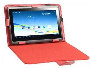 "Etui na Tablet 7"" Tracer Traveler Red Case"