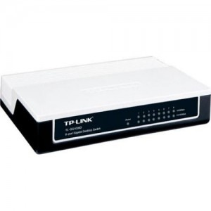 Switch TP-Link TL-SG1008D 8x10/100/1000M