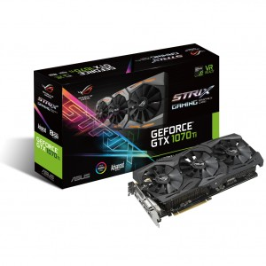 ASUS GeForce GTX 1070 Ti STRIX GAMING 8GB GDDR5 ROG-STRIX-GTX1070TI-A8G-GAMING