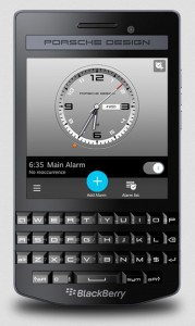 P'9983 from BlackBerry® by Porsche Design Graphite Edition