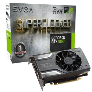 Karta graficzna EVGA GeForce GTX 1060 SC GAMING, 3GB  03G-P4-6162-KR